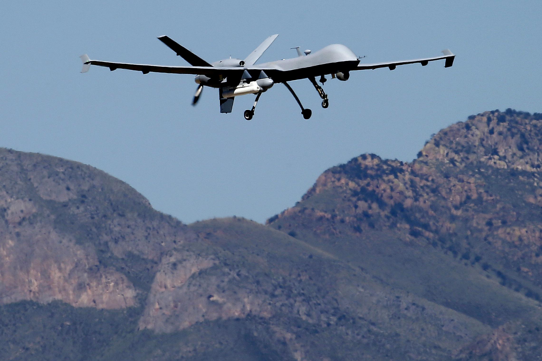 Waziristan Agencies Remained Target of Drones in 2014
