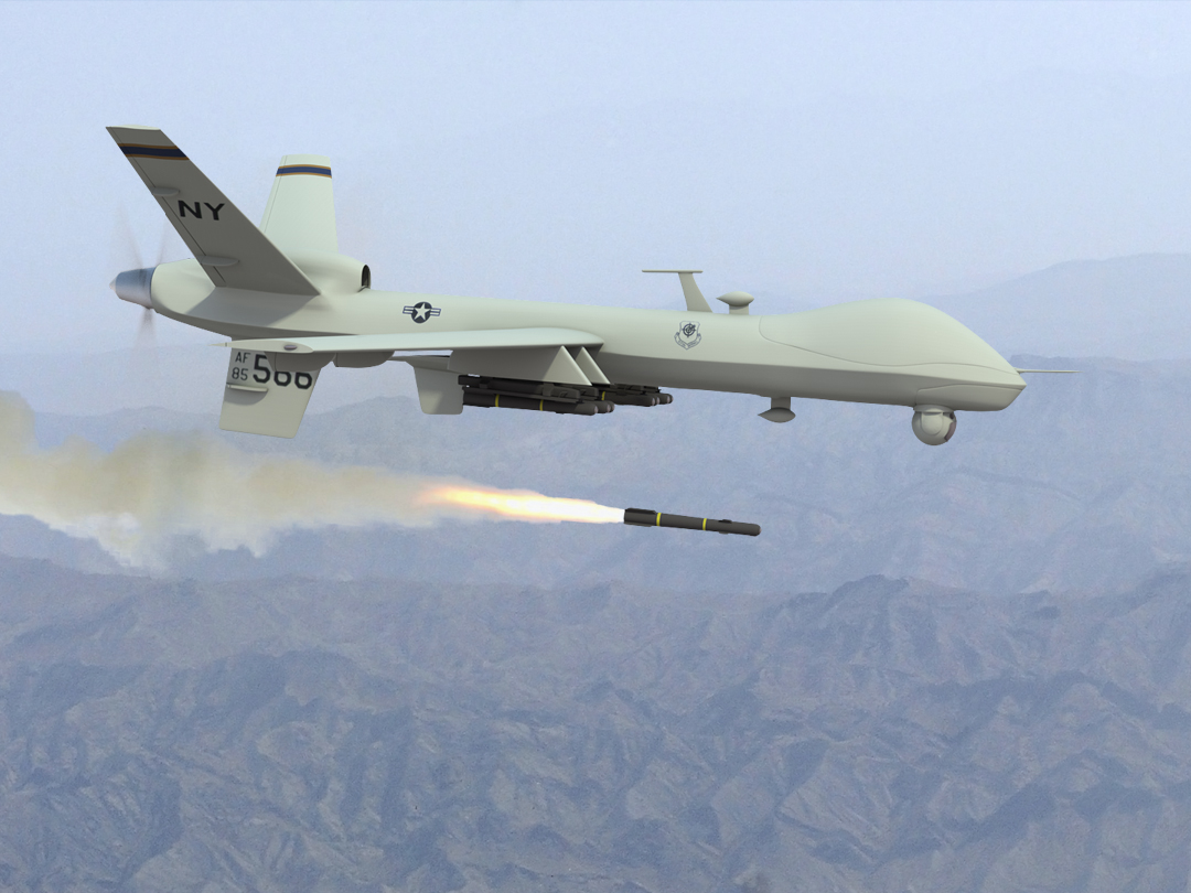 Drone Attack in NWA