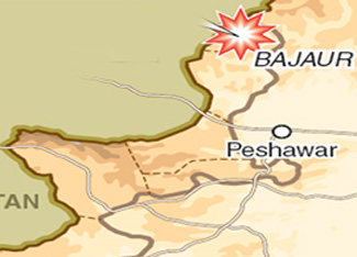 A Security personnel killed, three injured in a bomb blast