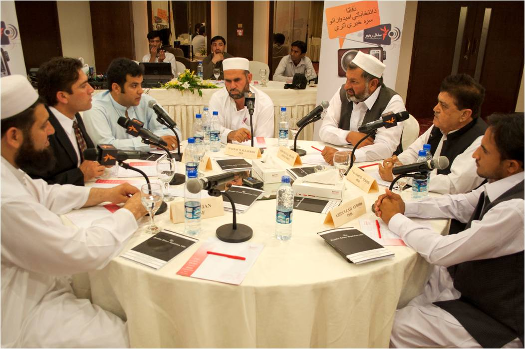 Debate among MNA candidates broadcasted