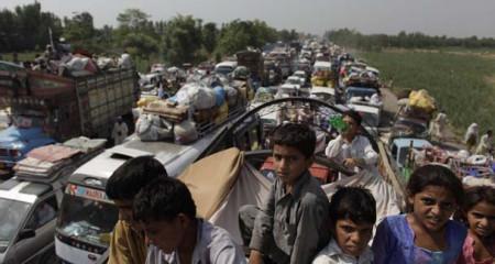 NWA Dislocated People Arrived Kurram Agency