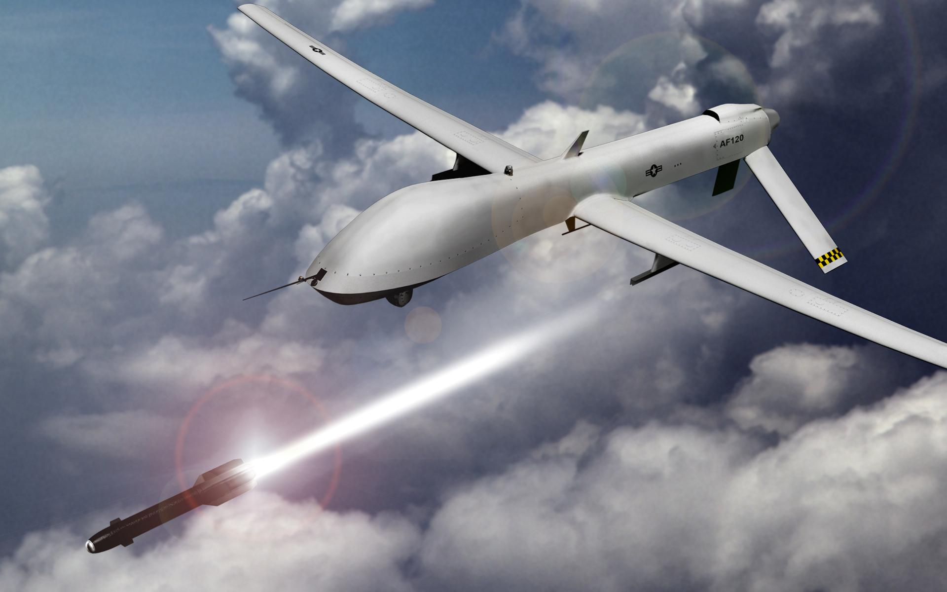 US Drone Amid Military Operation in Miranshah