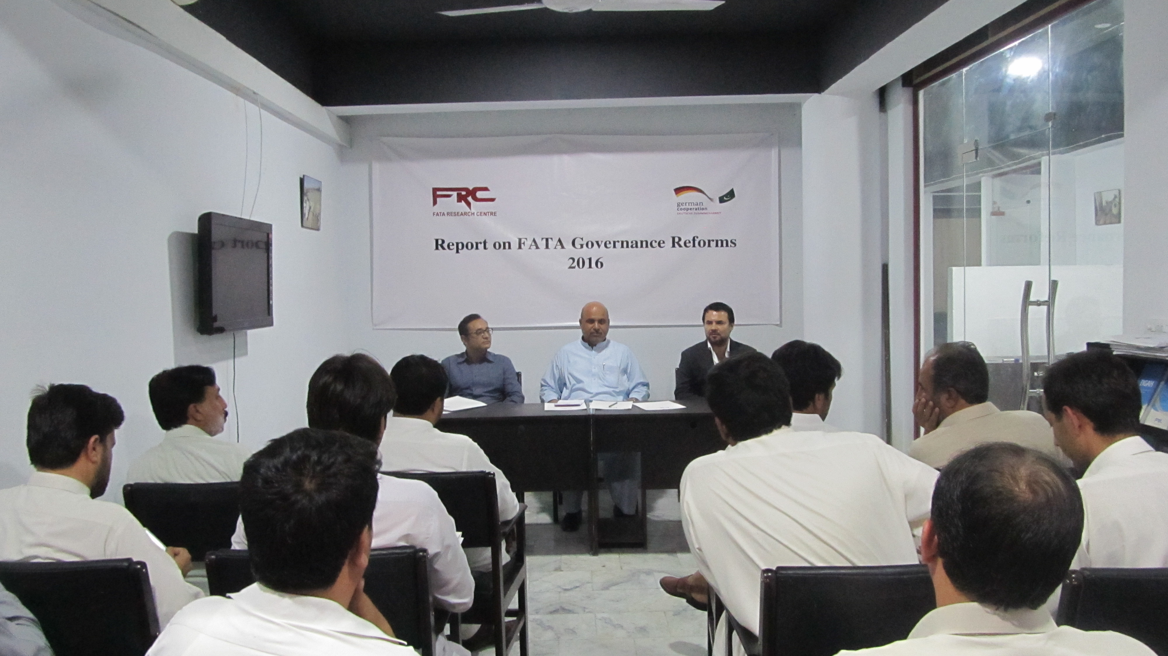 "Two-Day Workshop on ""Future of Governance Reforms in FATA"