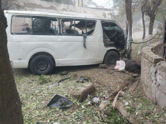Suicide Bomber Attacks Judges in Peshawar