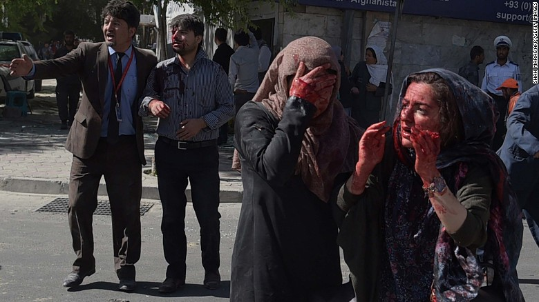 Bomb Blast Caused Heavy Casualties in Kabul City